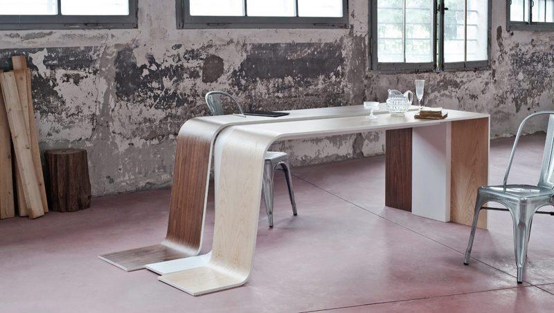 Table Formabilio bicolore