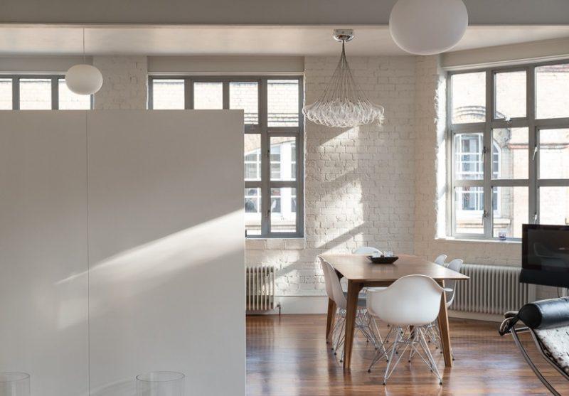 Loft blanc Londres