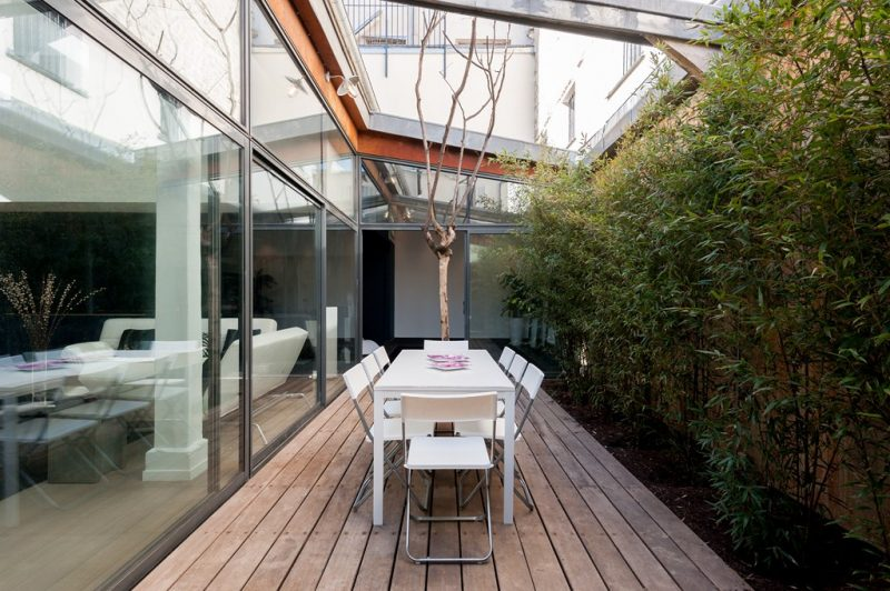 Loft avec patio à Paris