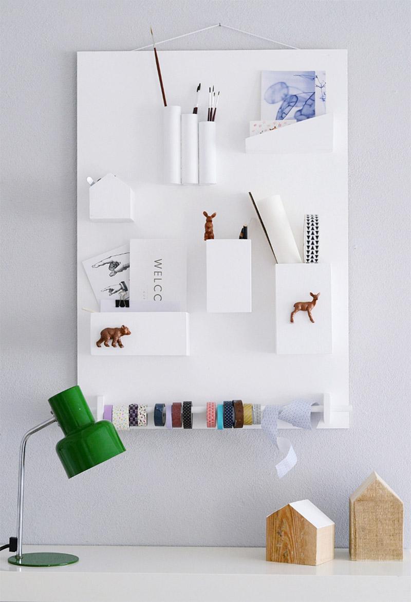Rangement mural diy - Rangement mural atelier ...
