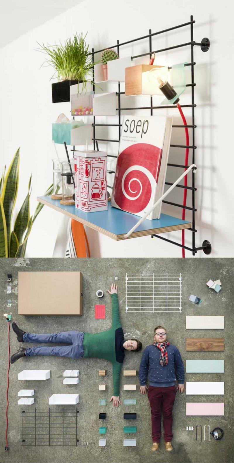 Vide poche mural design par Atelier Belge