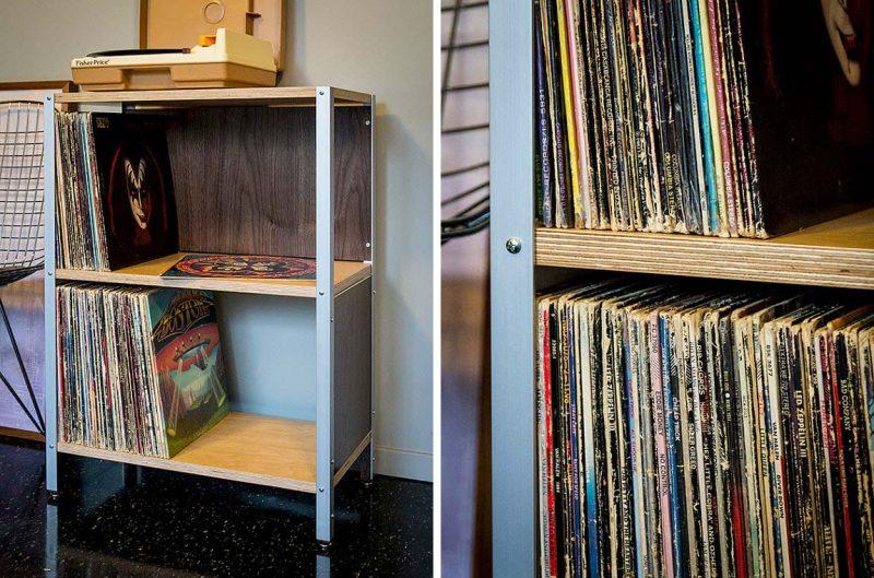 Bibliothèque à disques