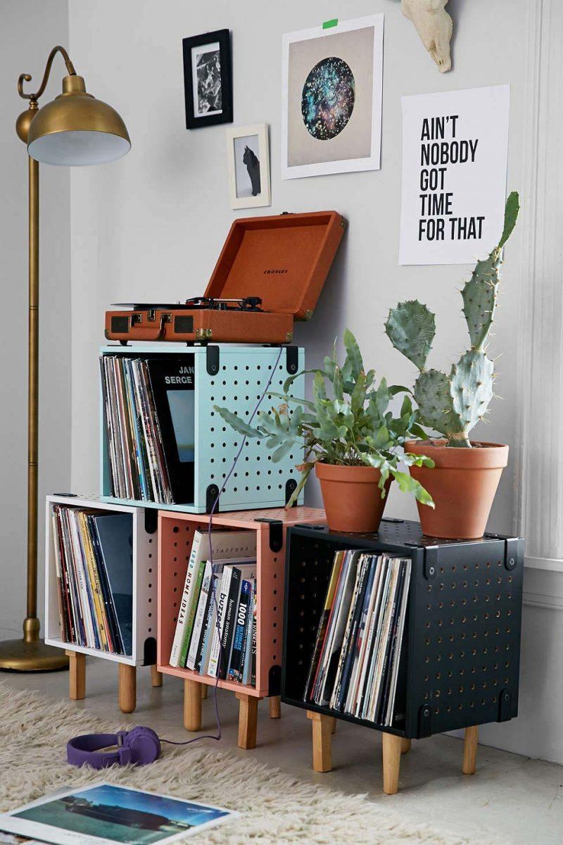 Caissons pour disques vinyles