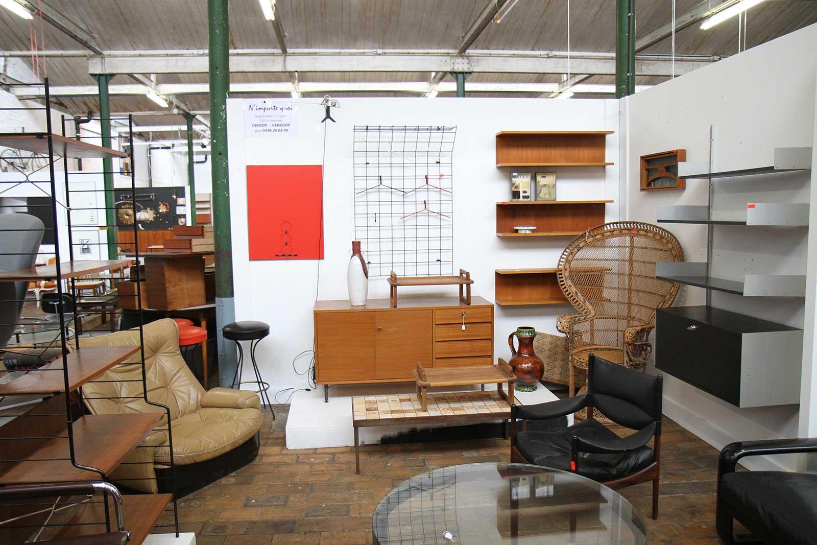 brocante de mobilier vintage gand - Meuble Design Vintage