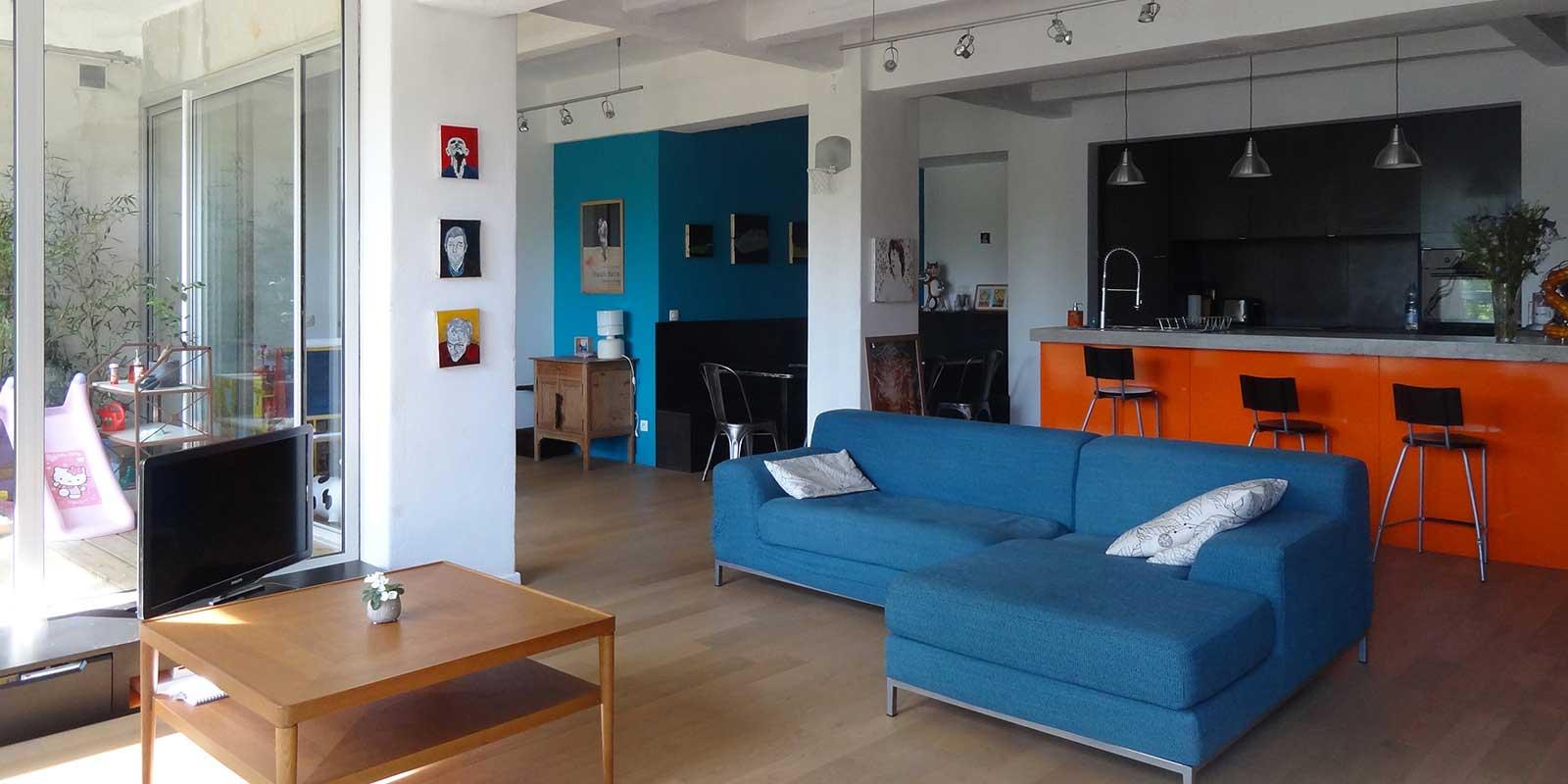 Le loft (à vendre) de Nathalie et Benjamin à Roubaix