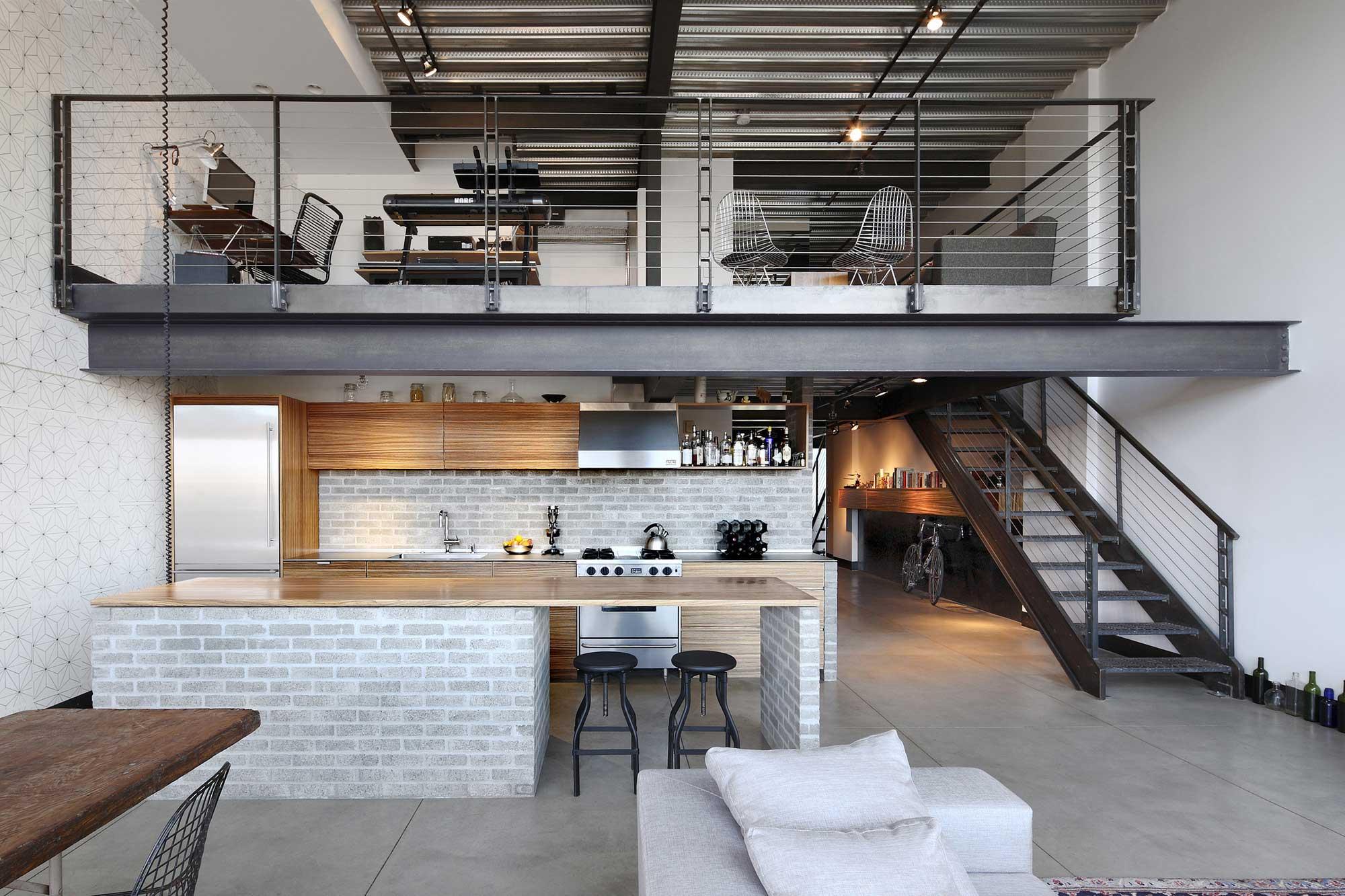 Capitol Hill Loft par SHED Architecture