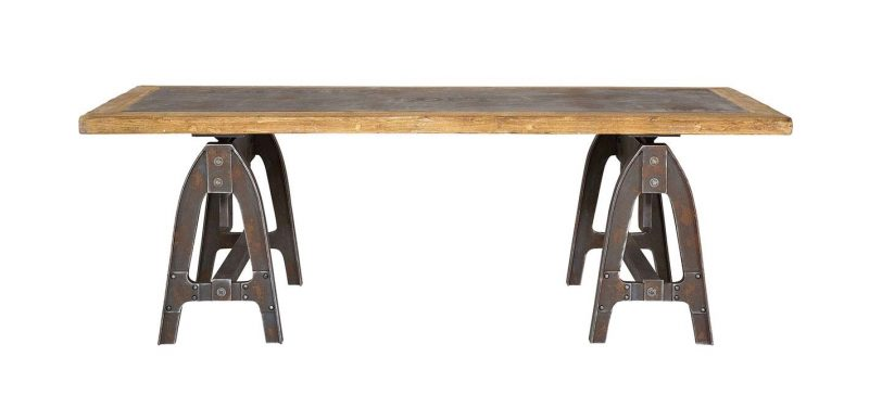 39 id es d co de tr teaux pour cr er une table ou un bureau for Table originale salle manger