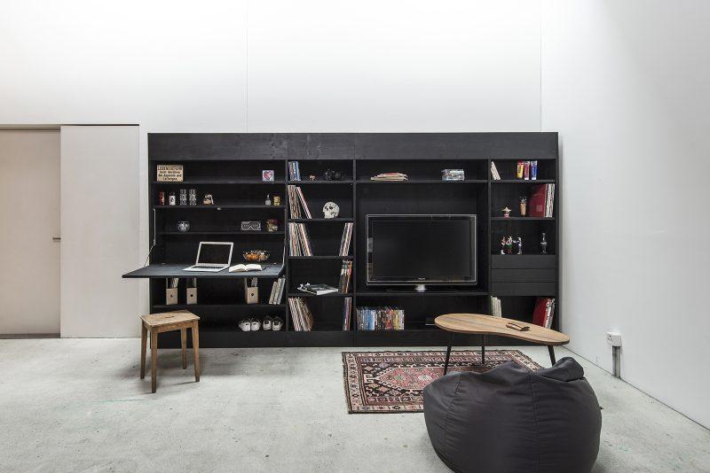 the living cube le meuble tout en un. Black Bedroom Furniture Sets. Home Design Ideas