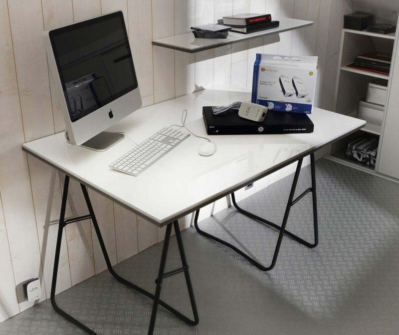 Tréteaux 39 Idées Déco Pour Créer Une Table Ou Un Bureau