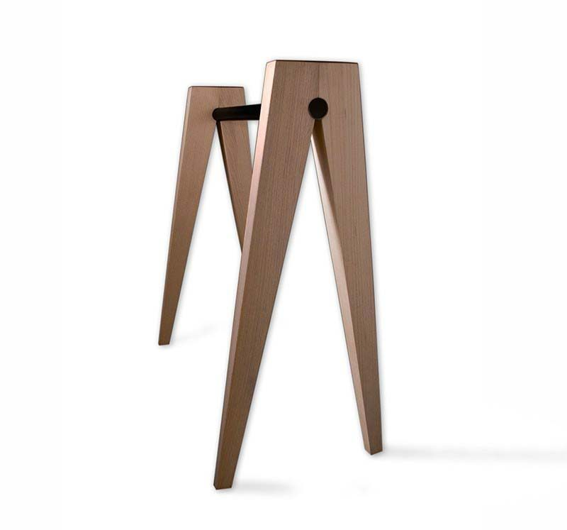 39 id es d co de tr teaux pour cr er une table ou un bureau for Pied table design