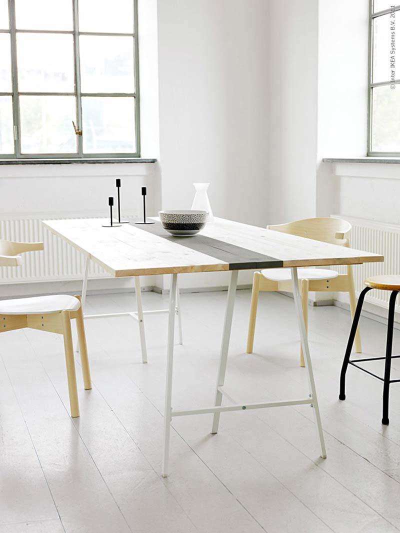 tr teau ikea lerberg. Black Bedroom Furniture Sets. Home Design Ideas
