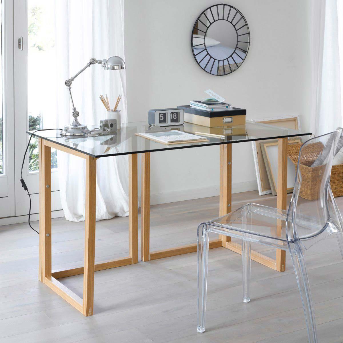 tr teaux en forme de l en pin par la redoute. Black Bedroom Furniture Sets. Home Design Ideas