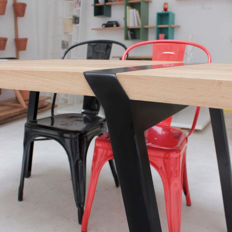 39 id es d co de tr teaux pour cr er une table ou un bureau for Plateau pour table de cuisine