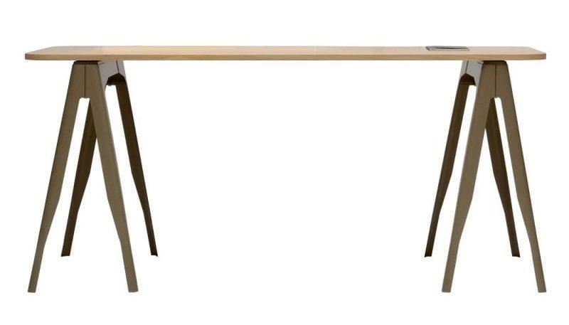 Pied de table métal personnalisable et coloré à bon prix