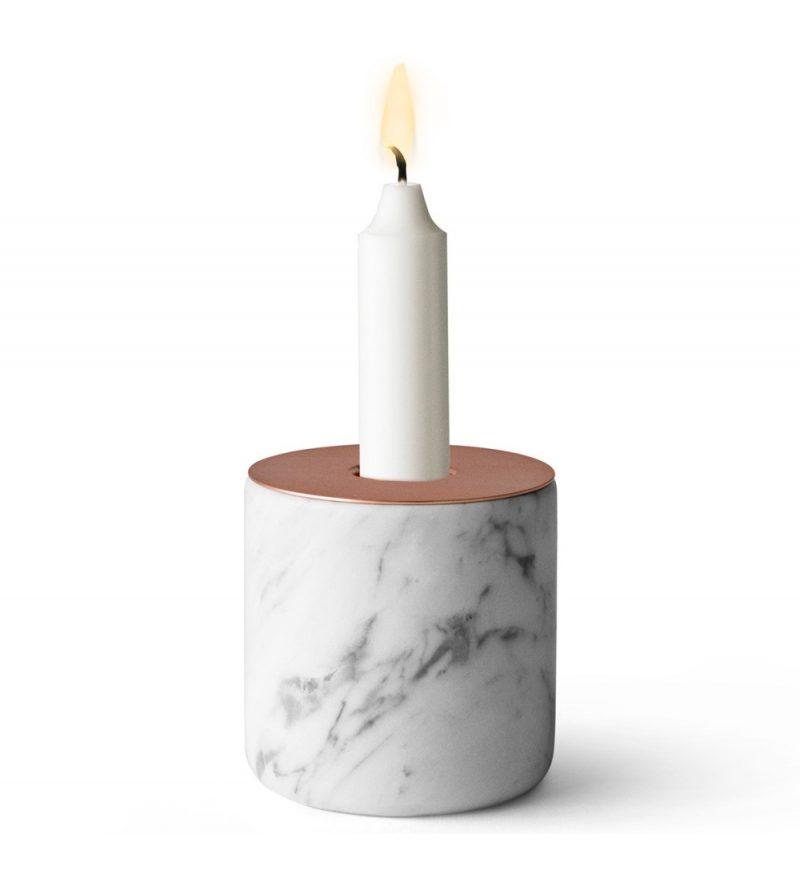Bougeoir en marbre Menu