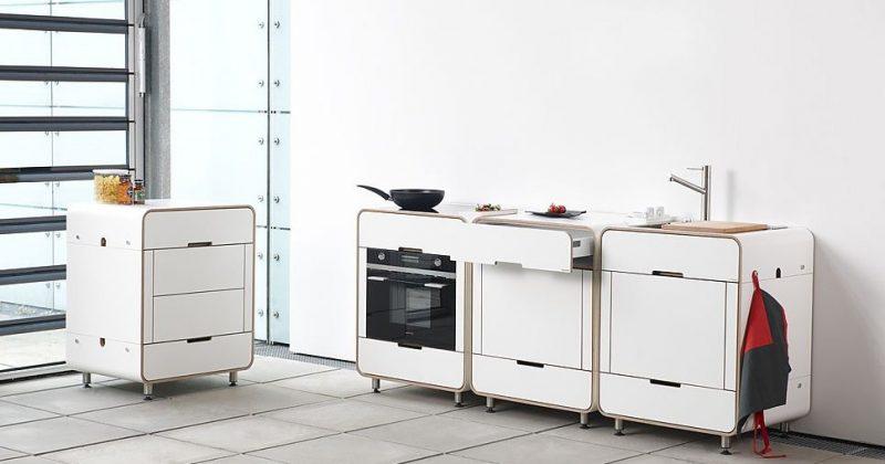 14 cuisines modulables. Black Bedroom Furniture Sets. Home Design Ideas