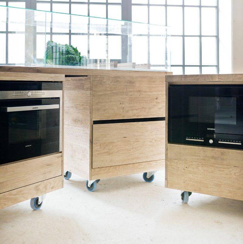 Cuisine Siemens en bois