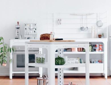 14 cuisines à éléments mobiles indépendants