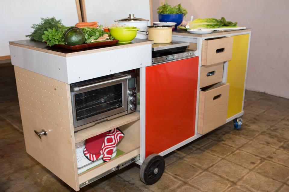 Mini cuisne for Mini ilot cuisine