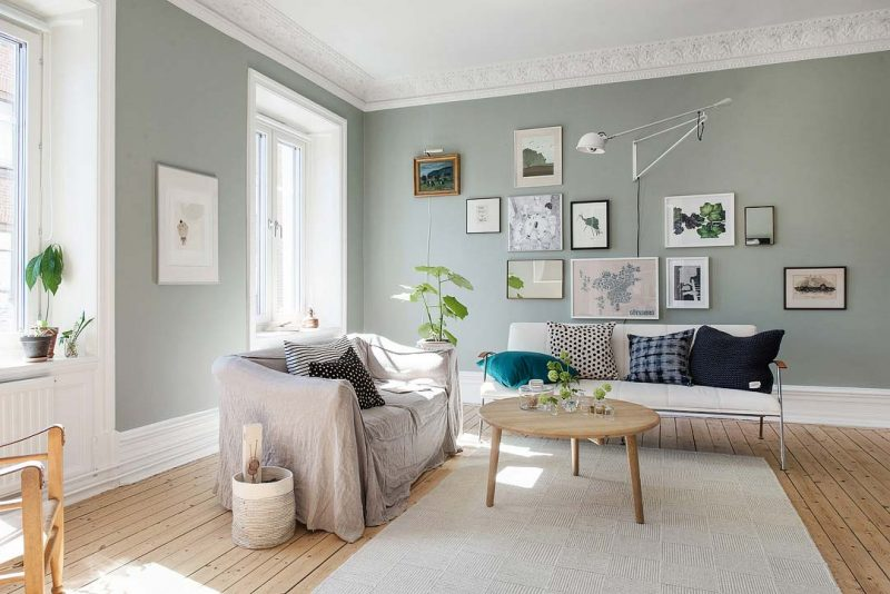 Comment cr er une d co scandinave - Idee deco woonkamer foto ...