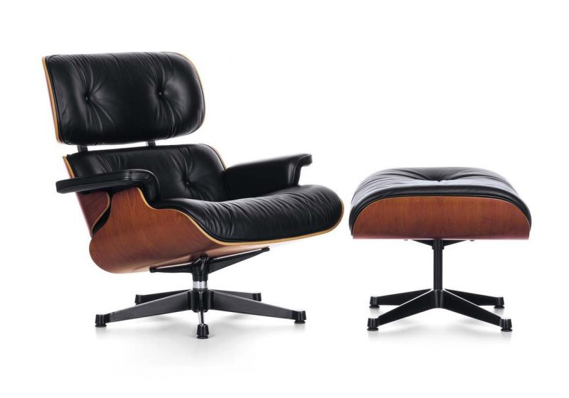 fauteuil eames lounge chair. Black Bedroom Furniture Sets. Home Design Ideas