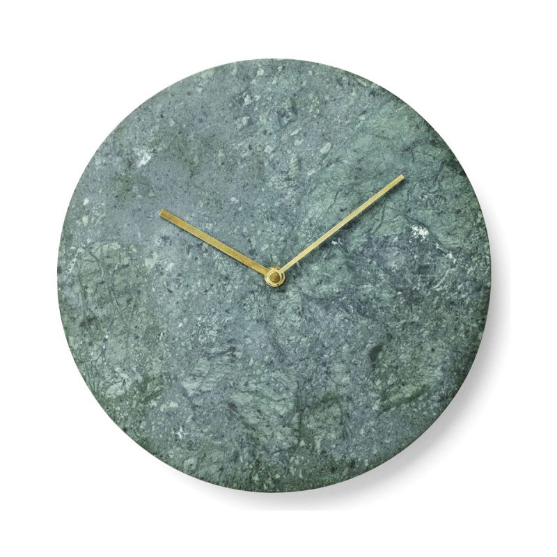 Horloge marbre vert