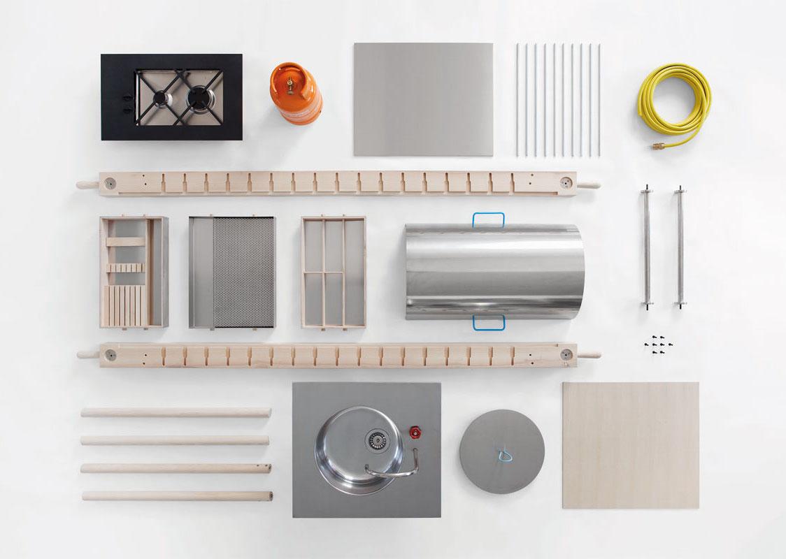 elements de cuisine independants ascot lave vaisselle by. Black Bedroom Furniture Sets. Home Design Ideas