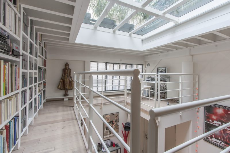 plafond en verre toit terrasse en verre