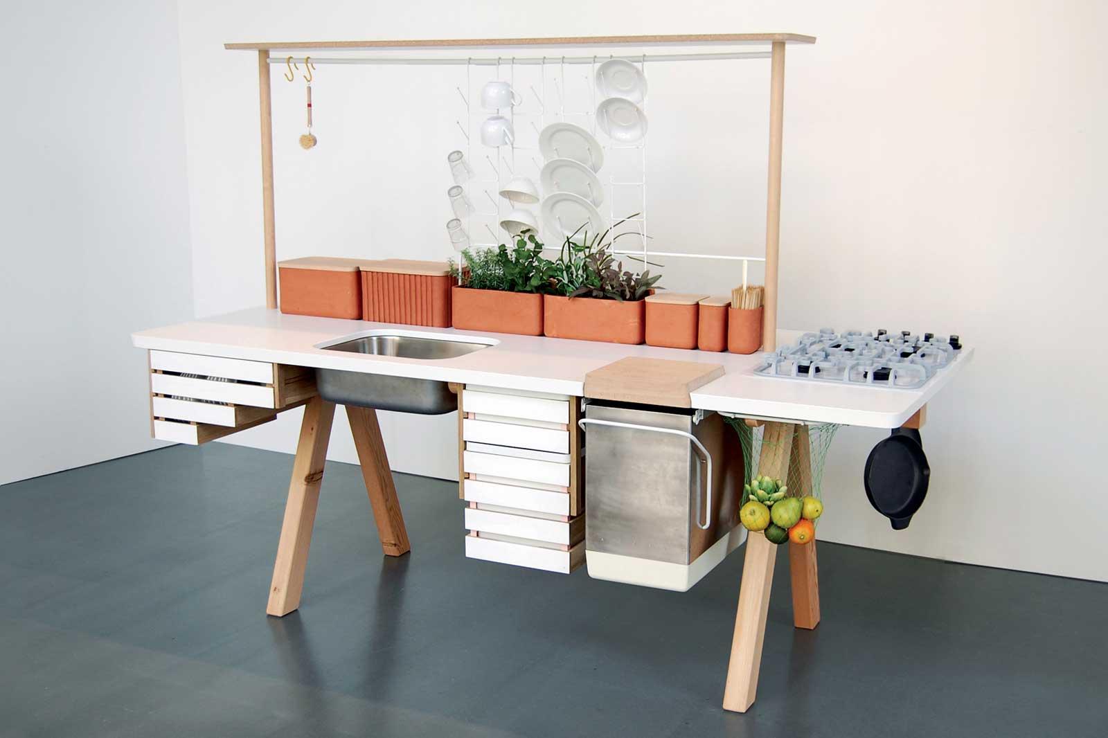 Meuble de cuisine tout en un for Recherche meuble de cuisine
