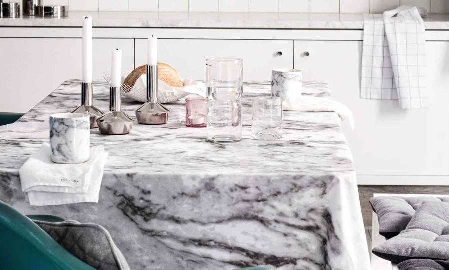 Nappe effet marbre