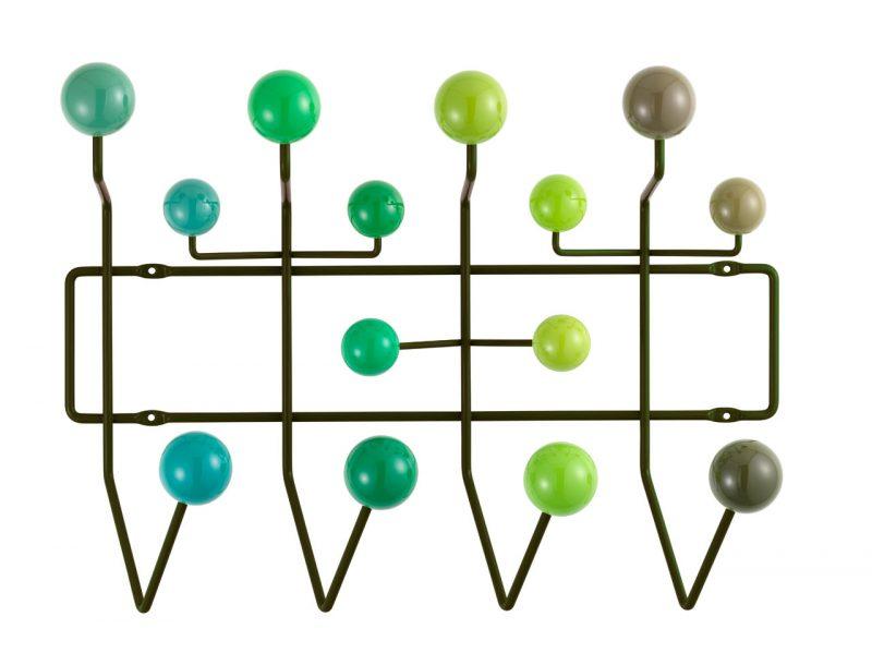 Porte-manteaux Eames Hang it all vert