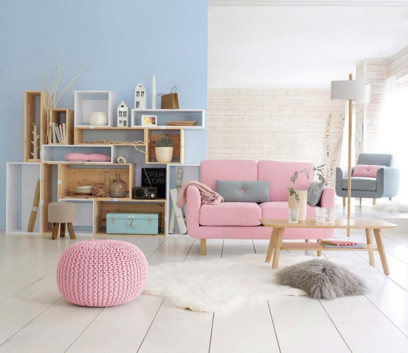 Comment cr er une d co scandinave - Parquet peint en blanc ...