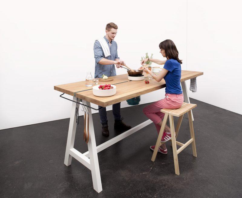 Table à cuisiner