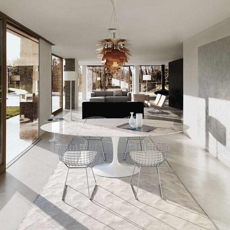 Table Tulip Saarinen en marbre