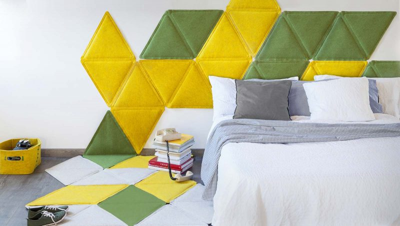 Triangle mur déco scandinave