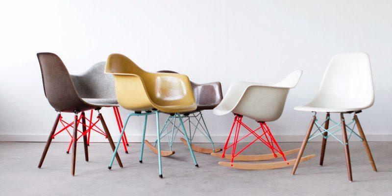 Customisation de chaise Eames