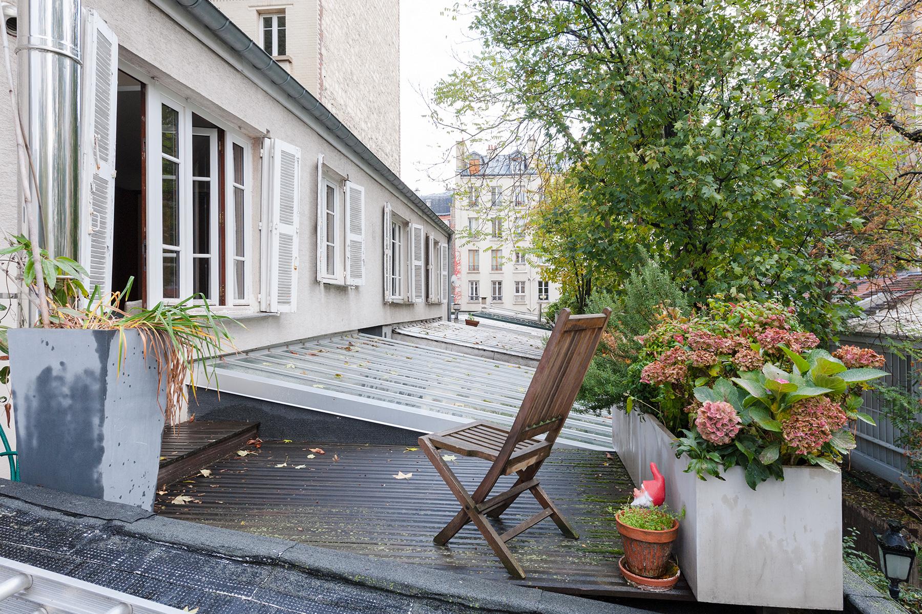 loft avec terrasse paris