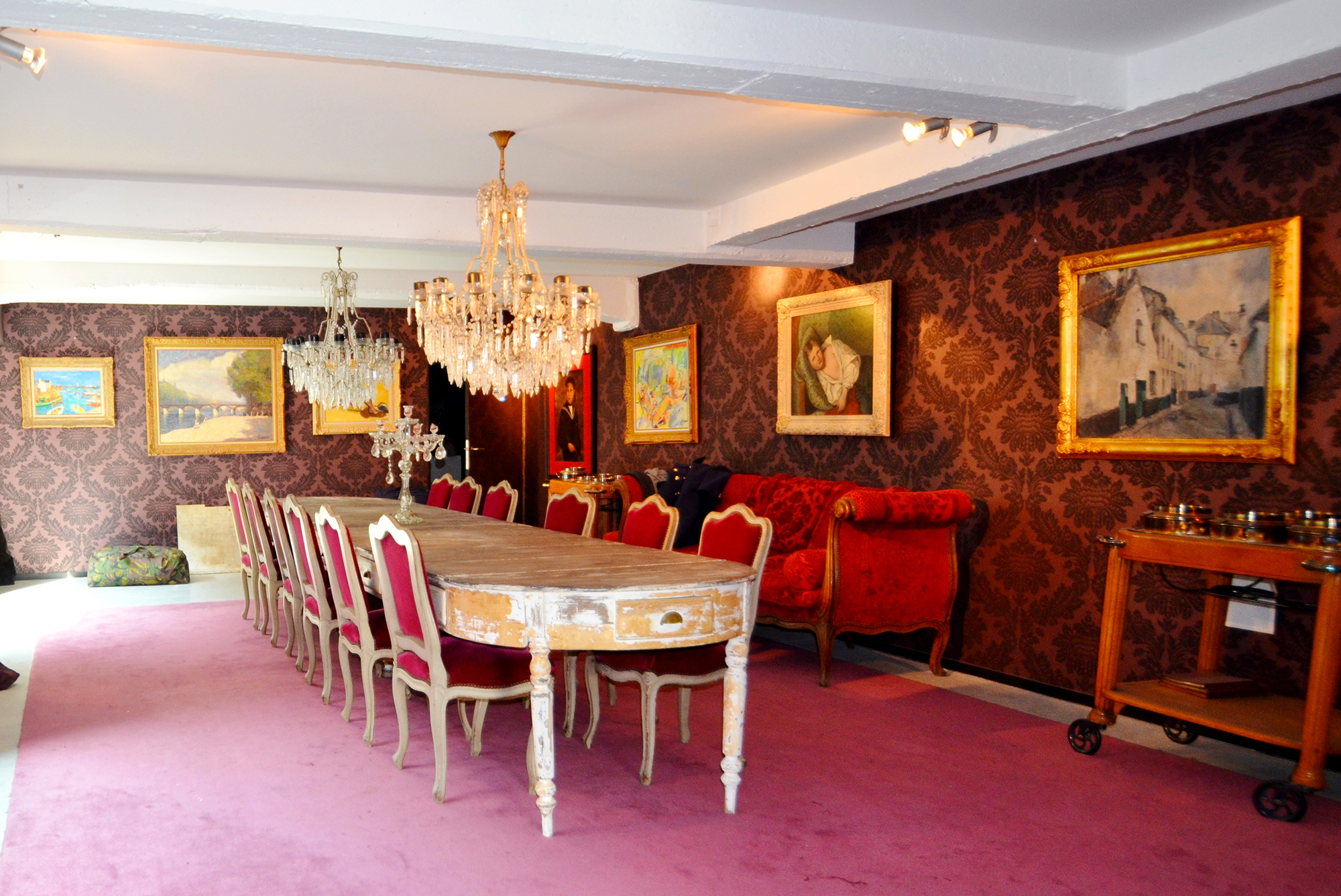 déco loft baroque