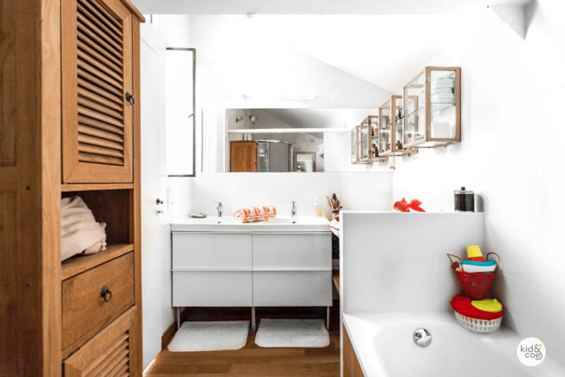 salle de bain loft industriel salle de bains avec carreaux de ciment with salle de bain loft. Black Bedroom Furniture Sets. Home Design Ideas