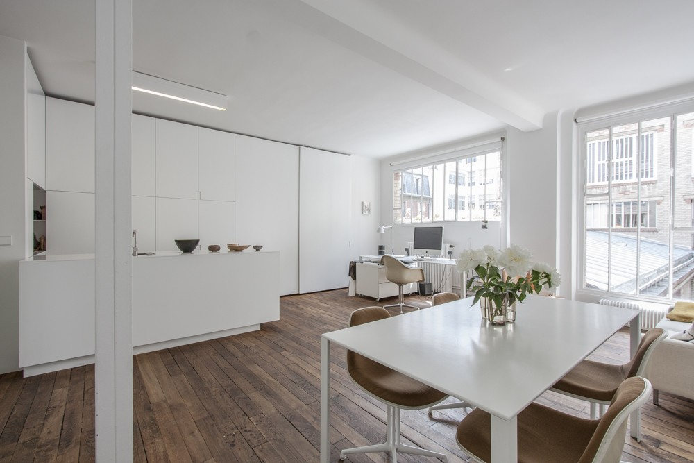 Petit loft vendre paris for Surface atypique paris