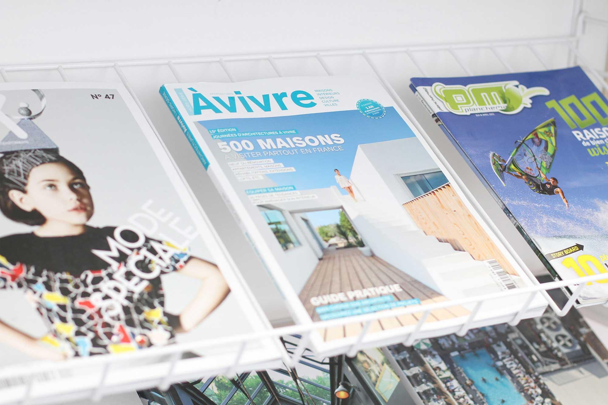 Magazine architecture vivre for Architecture a vivre magazine