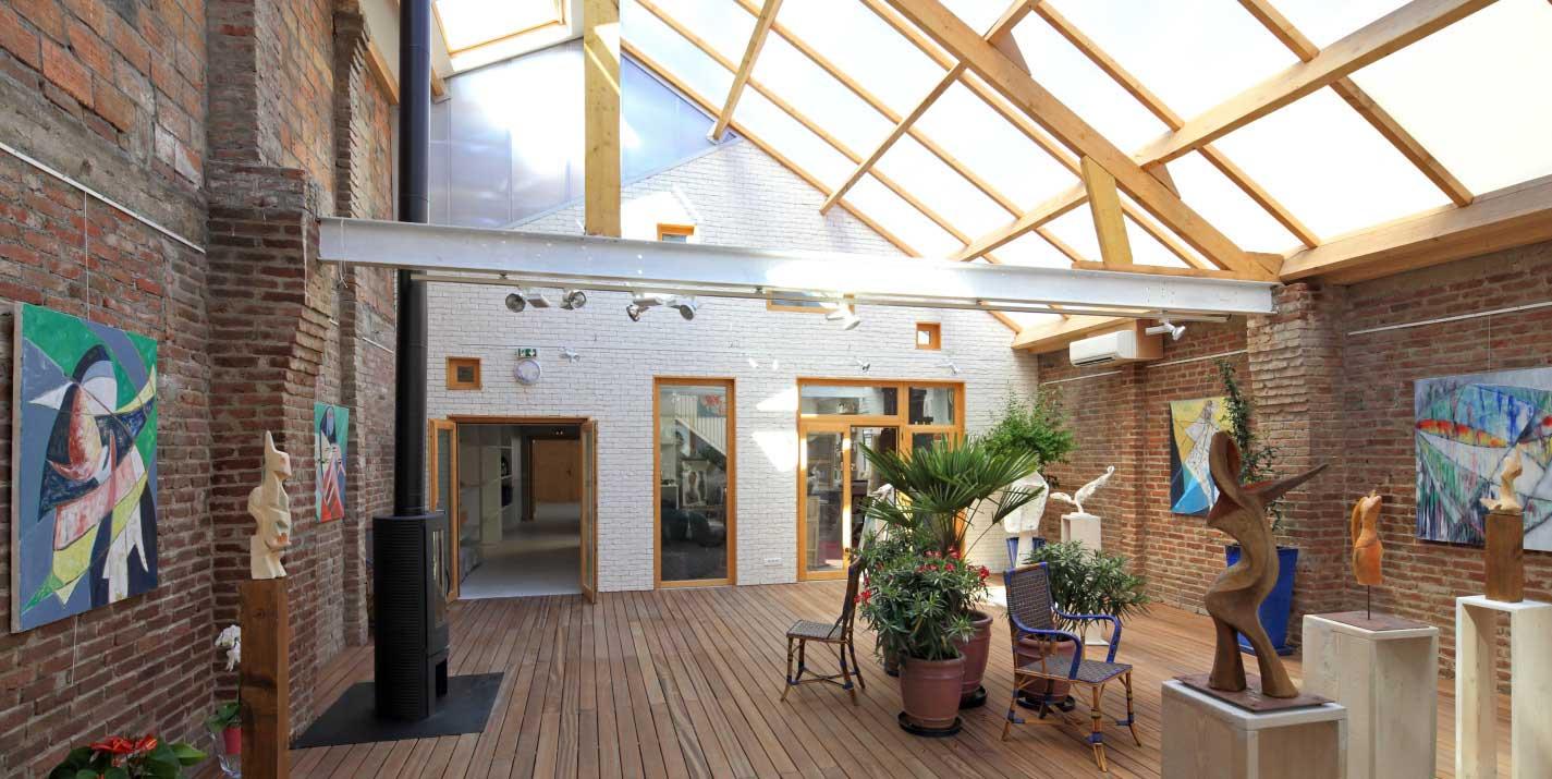 Ateliers d'artistes dans un loft
