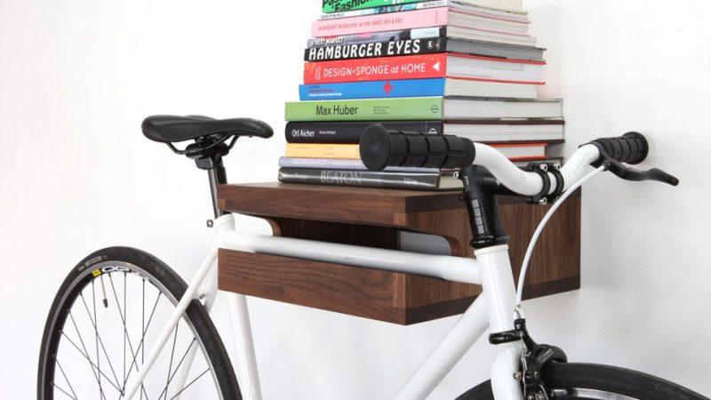 Porte vélo design.