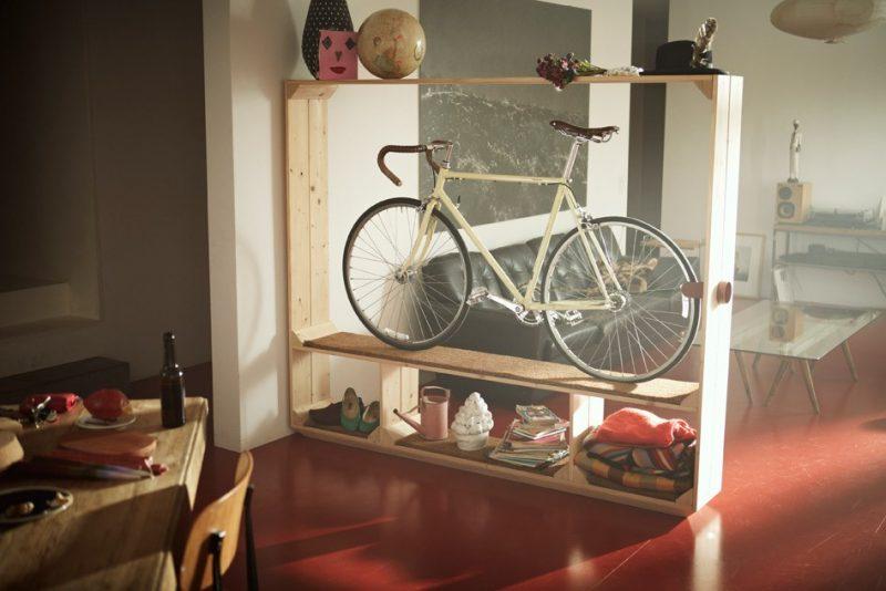 Idéé déco avec un vélo