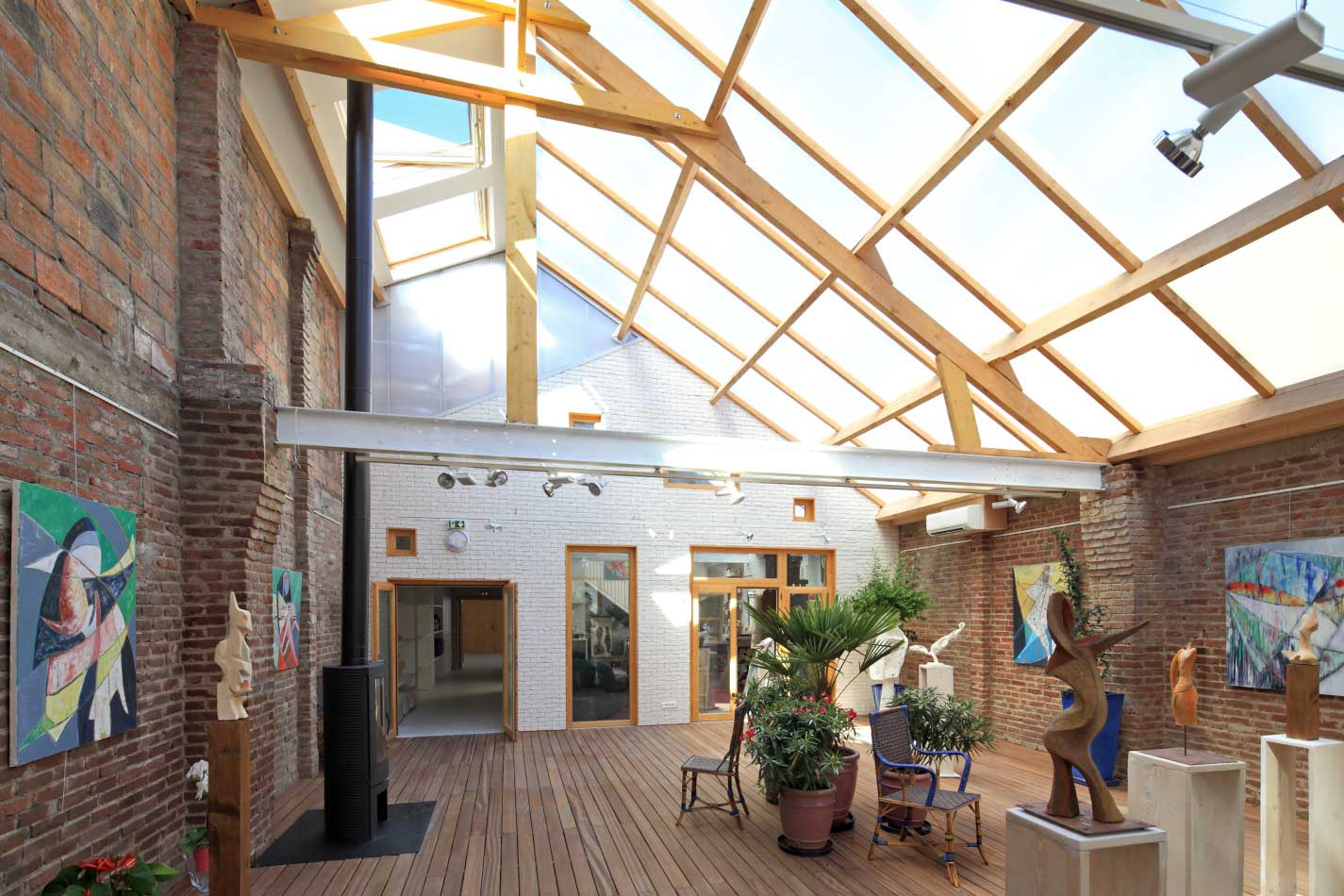 Ateliers D Artistes Par T Design Architecture