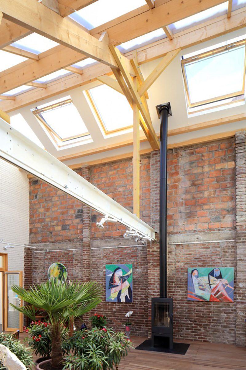 Atelier d'artistes dans un loft