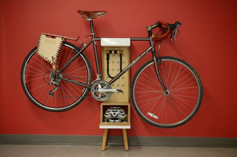 Meuble pour vélo