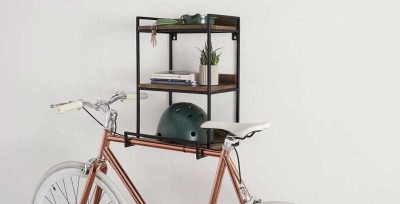 Porte-vélo design pour le salon