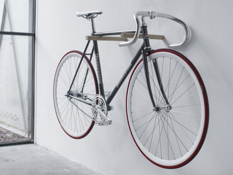 Porte vélo minimaliste
