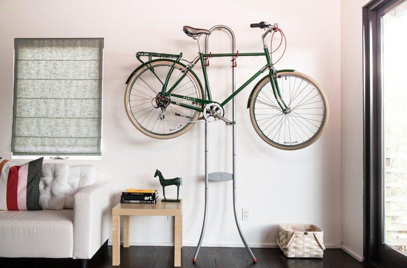 Rack mural pour vélo